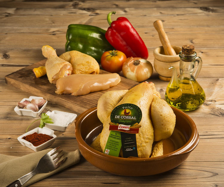 Conserva las propiedades de la carne de pollo - Pollo de Corral Coren