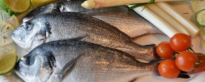 pescados y mariscos en la alimentación atlántica